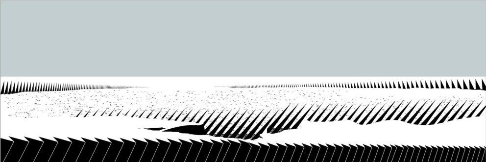 Камен Старчев, Бели Полета, 2015, пигментен печат върху хартия / Kamen Starchev, White Fields. 2015, pigment print on paper
